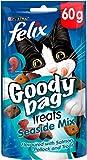 Felix Goody Bag Cat Treats Seaside Mix 60g (Pack of 8)