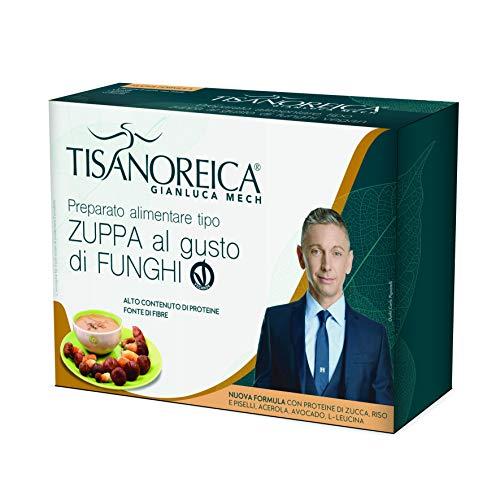 Gianluca Mech - Zuppa Proteica al Gusto di Funghi, Gluten Free e Vegan Ok - 136gr
