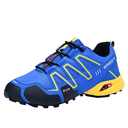 Schuhe Herren Sneaker | Holeider Laufschuhe Sportschuhe Turnschuhe Freizeitschuhe Leichte Bequeme Wanderschuhe für Männer Freizeit Mode Sneake rutschfest
