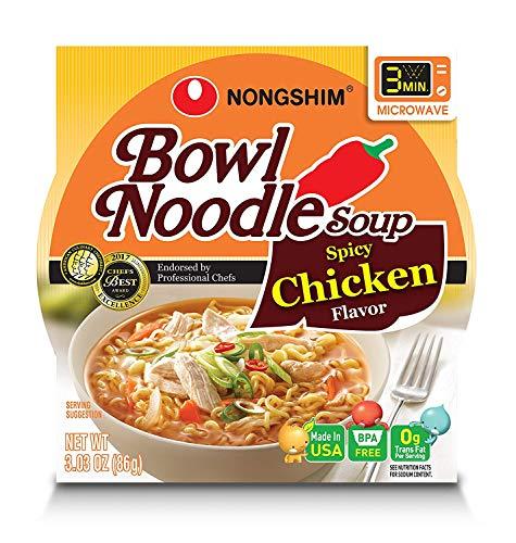 NongShim Spicy Chicken Noodle Bowl, 3.03 Oz