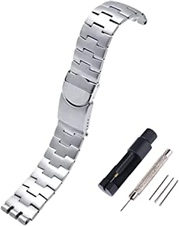 Choco&Man US Swatch Quick Release Bracelet Watch Band Strap Stainless Steel Strap Wrist Band Replacement Watch Bands Watch...