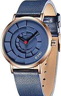 EYKI Dress Watch For Men Analog Leather - E1095L