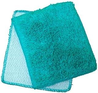 Tease Me Turquoise Shrubbie Towel Washcloth