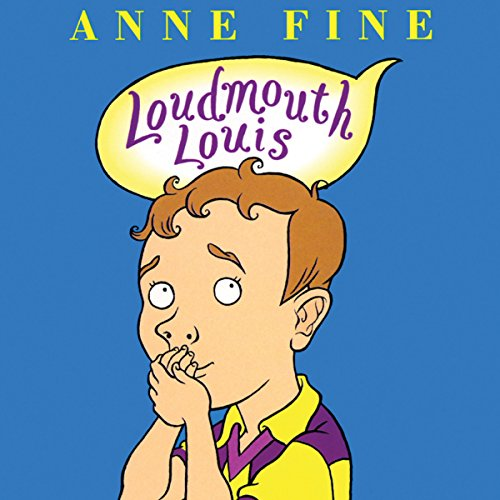 Loudmouth Louis audiobook cover art