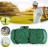 VEVC Red De Práctica De Golf, Material De Nylon Red De Malla De Entrenamiento De Golf Equipos De Entrenamiento De Golf para Uso En Jardines Interiores Y Exteriores, 3X3m
