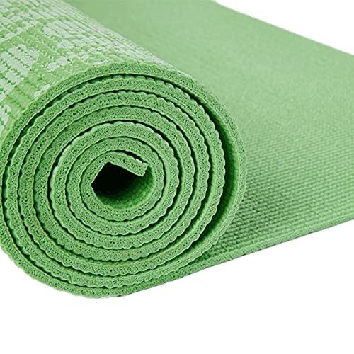 N\C Esterilla de Yoga Gruesa de 7 mm Impresa en PVC, Esterilla de Ejercicio Antideslizante, Esterilla de Fitness, Esterilla de Viaje, Pilates de Yoga Caliente para el hogar