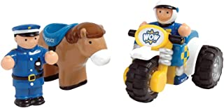 Wow Toys Police Patrol Rider Police Bike and Horse Set
