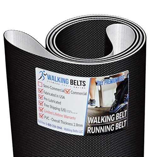 WALKINGBELTS Walking Belts LLC - Sole F80 (580881) (2006) Treadmill Walking Belt 2ply Premium + Free 1oz Lube