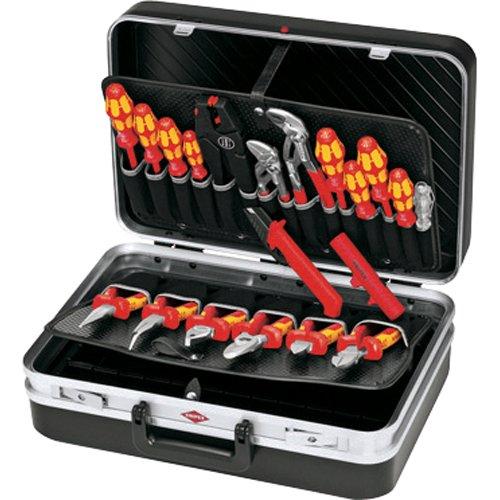 Preisvergleich Produktbild KNIPEX 00 21 20 Werkzeugkoffer Elektro 20-teilig