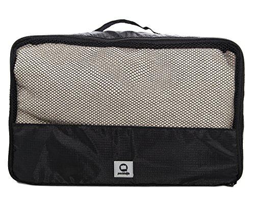 HAUPTSTADTKOFFER – Packhilfe - Packtasche L, Koffer Organizer, Aufbewahrungstasche für Hosen + Oberteile, Gepäcktasche für Reisen, Kofferorganizer, Packwürfel, Kleidertasche, Reisetasche, 40 cm