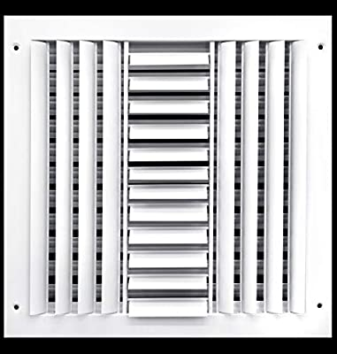 """12"""" X 12"""" Supply Register Grille - VENT COVER & DIFFUSER"""