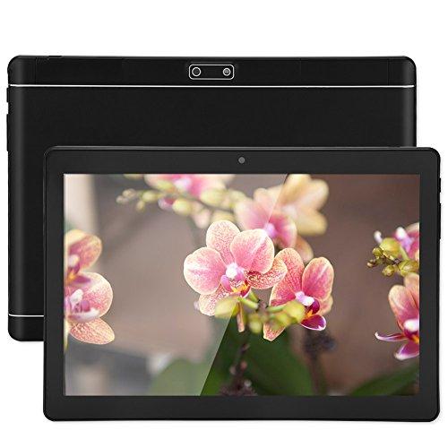 Vbestlife1 Tablet PC con Pantalla táctil de 10 Pulgadas, cámara Dual de 30 W + 200 W, 1 GB de RAM + 16 GB de ROM, GPS + Llamada telefónica + procesador Octa-Core Integrado, 3G / Bluetooth/WiFi(Negro)