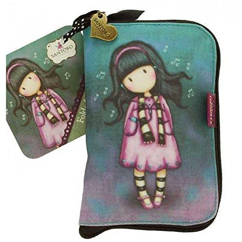 SANTORO GORJUSS Borsa per la spesa pieghevole con cerniera'Little Song' - Shopper Bag