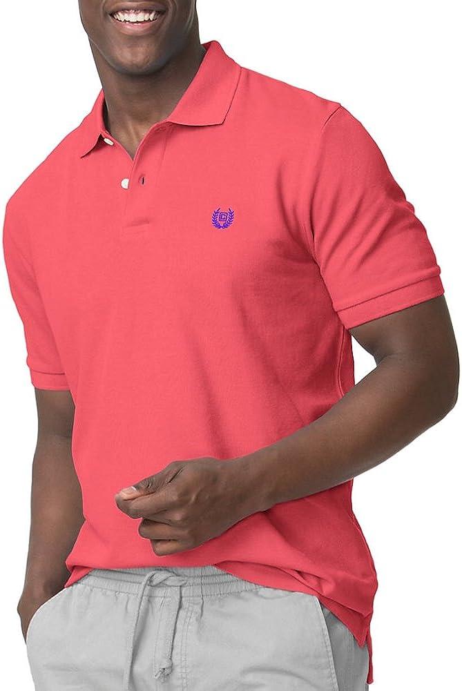 Chaps Men's Big & Tall Cotton Pique Short Sleeve Polo Shirt