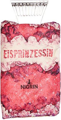 Nigrin 71318–Rasqueta de Hielo con Guante en Hielo Princesa de Cromo, con policarbonato de schab Borde,