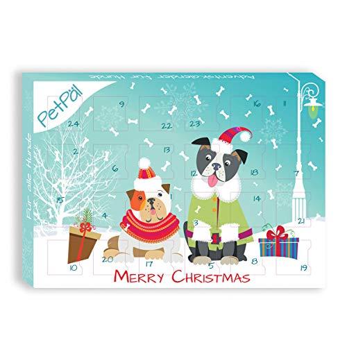 PetPäl Hunde Adventskalender 2019 | DIE leckersten Snack & Leckerlis für deinen Hund zu Weihnachten | Gesunde Leckerlies zum Advent - Getreide- & Glutenfrei | Ohne Zucker & Künstliche Farbstoffe