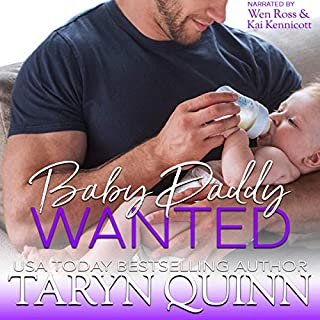 Baby Daddy Wanted audiobook cover art