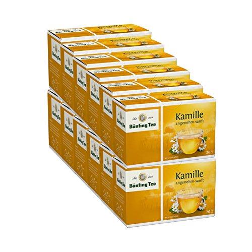 Bünting Tee Kamille classic, 12er Pack