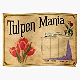 valungtung Crypto Bitcoin Finance Wall Mania Street Cryptocurrency Tulip Bubble Print Modern Typographic Poster Girl Boss Office Decor Motivational Poster Dorm Room Wall