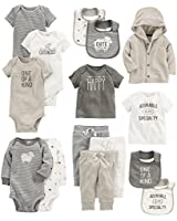 Carter's Baby 15-Piece Basic Essentials Set, Sheep, 24 Months