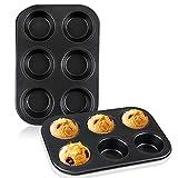 Best Nonstick Muffin Pans - Muffin Pan 2pcs, Beasea 6 Cavity Non Stick Review