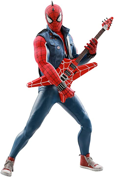 Hot toys marvel spider-man in punk suit 1:6 scale action figure videogame HT903799