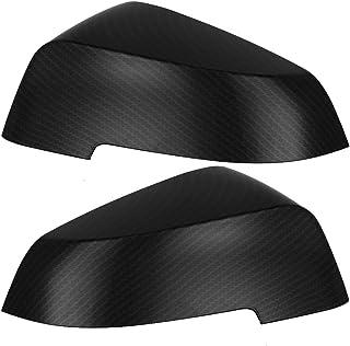 Auto rückspiegel abdeckung, kohlefaser stil l/r türflügel schutz passt für f10 f11 f18 2014 2016
