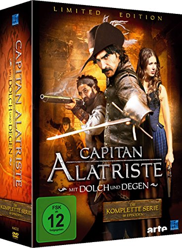 Capitan Alatriste - Mit Dolch und Degen Limited Edition (18 Folgen im 6 Disc Set) (exklusiv bei Amazon.de)