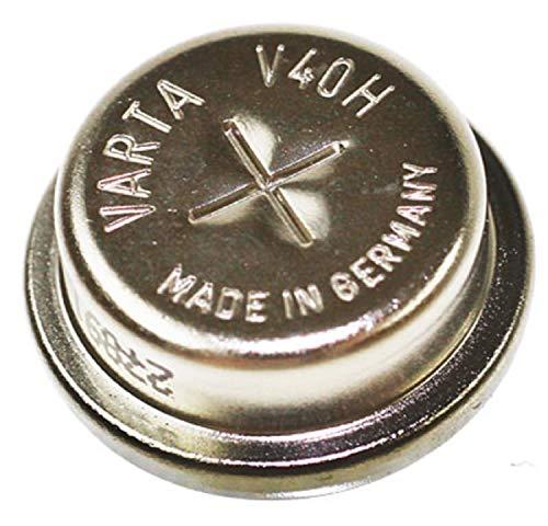 Original Knopfzellenakku für VARTA V40H mit NiMH/ 1.2V/ 40 mAh
