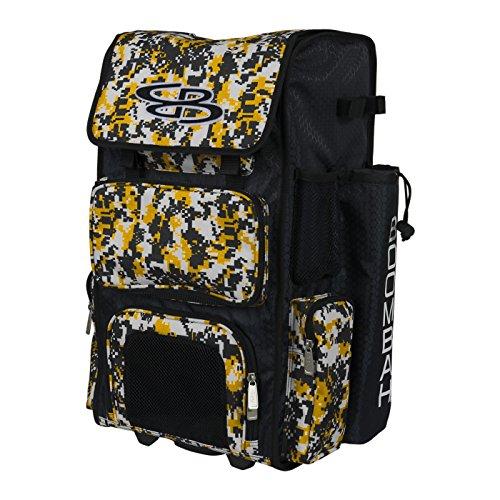 Boombah Rolling Superpack Baseball / Softball Gear Bag - Wheeled Version