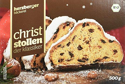 herzberger Christ Stollen der Klassiker, 3er Pack (3 x 500 g)