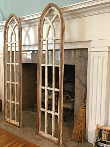 Arch Window Frame, Farmhouse, Cottage, Rustic, Cathedral Window Frame