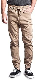 Mens Twill Jogger Pants