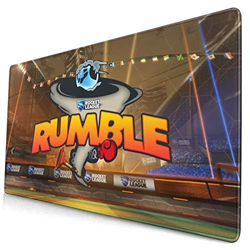 Gaming-Mauspad / Schreibtisch-Mauspad, groß, 40 x 75 cm, komfortables Mauspad mit personalisiertem Design für Laptop, Computer und PC – Rocket League