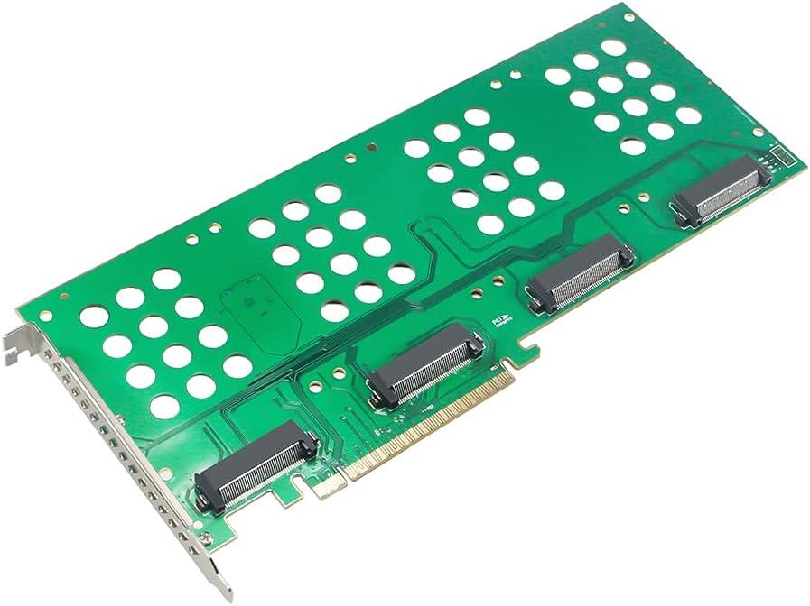 U.2 SSD M.2 NVMe Popular overseas to PCIe Card B Single X16 X8 X4 Dual unisex Riser