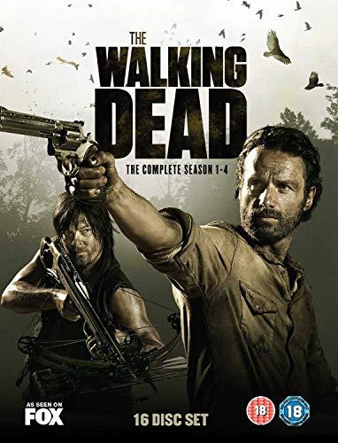 AMC The Walking Dead - Season 1-4 (DVD)