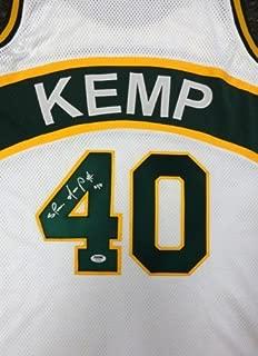 shawn kemp signed jersey