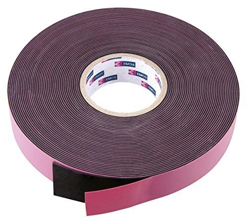 EMOS F51912 1x universales selbstverschweißendes Band, 10 m x 19 mm x 0,76 mm, für Außenbereich als Isolierband, Dichtungsband, Reparaturband geeignet, schwarz