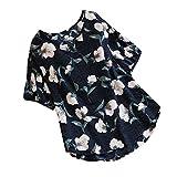 Tosonse T-Shirt Frauen Shirts Baumwoll Vintage Tops Mode Party Kurzarm Tunika Blusen Blumendruck O-Ausschnitt Tee -