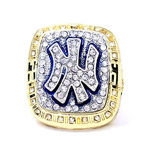 Anillo MLB 1999 New York Mets Super Bowl Championship Ring para Fan Memorial Collection, 13