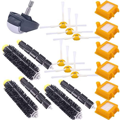 E-Qianw Kit De Piezas De Repuesto Compatible con IROBOT Roomba 700 Series 760,770,780,790 Piezas De Aspiradora