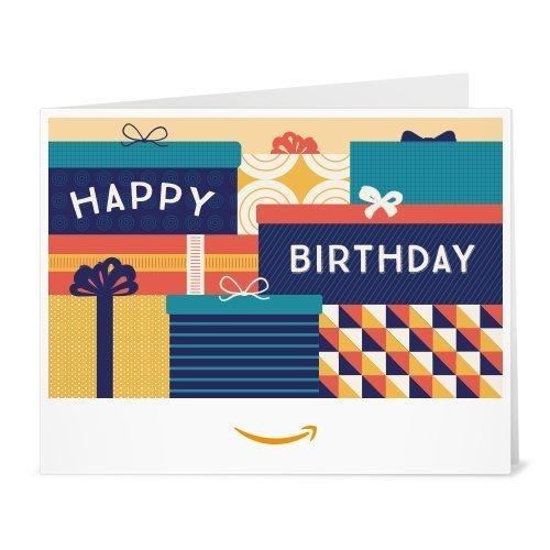 Amazon.de Gutschein zum Drucken (Happy Birthday Geschenkboxen)