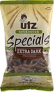 Utz Sourdough Specials Extra Dark Pretzels 16 oz. Bag (3 Bags)