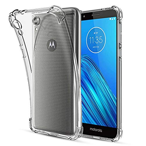 Moto E6 Clear Transparent Case by Lukey