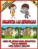 Encuentra las Diferencias Vol. 2: LIBRO DE JUEGOS PARA ENCONTRAR LOS 10 ERRORES PARA NIÑOS Y ADULTOS