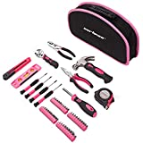 CARTMAN Pink 52-Piece Tool Set - Ladies Hand Tool Set
