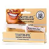 Dr Denti Zahnfüllung, 3 g, temporäre Füllung, Zahnlochfüller, Reparatur-Set für sofortige Pflege von Zementkapseln