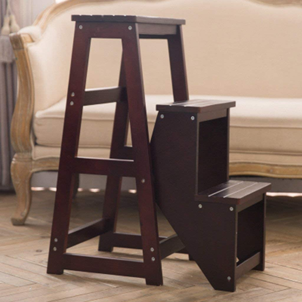 5 ☆ popular YGCBL Step Stool Home Portable Multifunctional Spring new work one after another