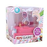 Mini Catching Balls Toy, Manual Mini Doll Machine Kids Mini Claw Machine Catching Balls Toy Great Gifts for Boys & Girls
