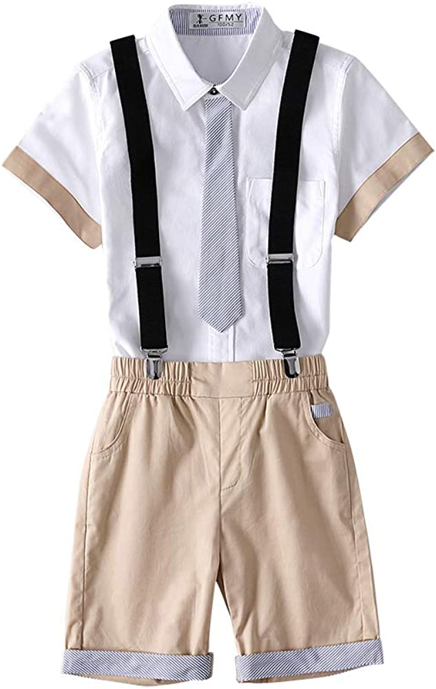 Kungfu ant Little New York Mall Boys Gentleman Short Suits Shir Outfits Denver Mall Sleeve